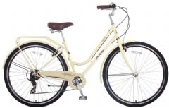 Probike Vintage Cream 7SPD - 700C Ladies Heritage Bike